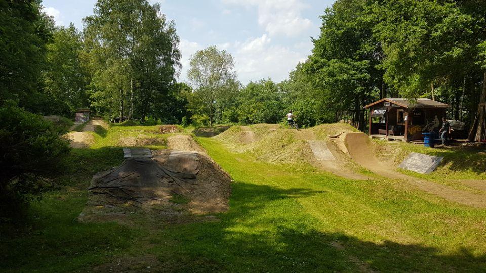 Hier siehst Du den Miriquidi Bikepark in Olbernhau